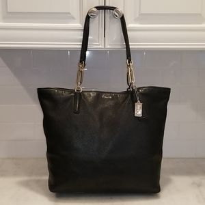 Coach Madison XL Pebbled Leather N/S CarryAll Tote